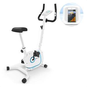 KLARFIT Myon Cycle, domáci trenažér, 12 kg zotrvačná hmotnosť, SmartCardio Studio, biely vyobraziť