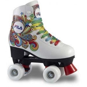 Fila BELLA biela 32 - Detské dvojradové korčule vyobraziť