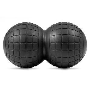 Dvojitá masážna loptička EVA čierna vyobraziť