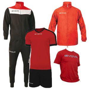 Tréningové Tričko - Červené - XS vyobraziť