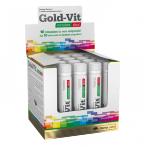 Olimp Gold Vit Complex Shot, 25 ml orange vyobraziť