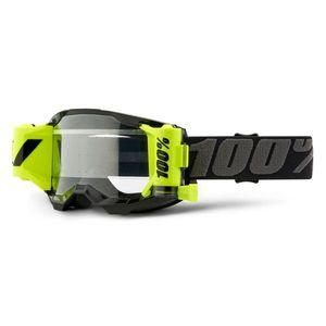 Motokrosové okuliare 100% Strata 2 Forecast čierna, číre plexi vyobraziť