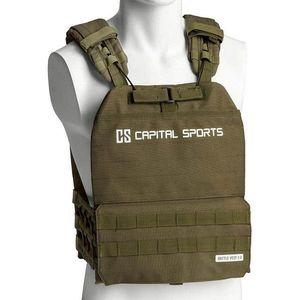 Záťažová vesta Capital Sports Battlevest 2.0 2 x 4 kg - zelená vyobraziť