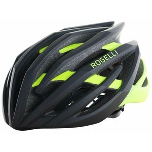 Ultraľahká cyklo helma Rogelli tiecť, čierno-reflexná žltá 009.812 vyobraziť