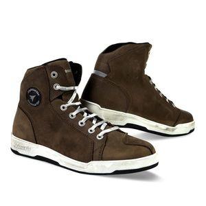 Kožené moto topánky Stylmartin Marshall hnedá - 46 vyobraziť
