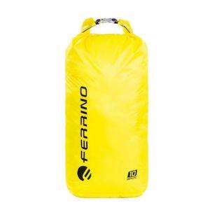 Ultraľahký vodotesný vak Ferrino Drylite 10l žltá vyobraziť