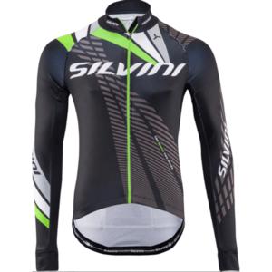 Pánsky zateplený dres Silvini Team MD1401 black-green vyobraziť