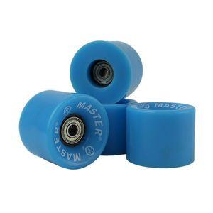 Kolieska pre plastik board MASTER - 60 x 45 mm - modré vyobraziť