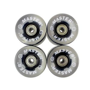 Kolieska svietiace pre plastik board MASTER - 60 x 45 mm - čierne vyobraziť
